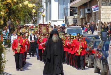 Με λαμπρότητα γιορτάστηκε η πολιούχος της Κανδήλας, Ζωοδόχος Πηγή