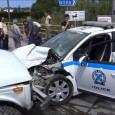Τροχαίο ατύχημα σημειώθηκε στη συμβολή των οδών Σπύρου Μουστακλή και...