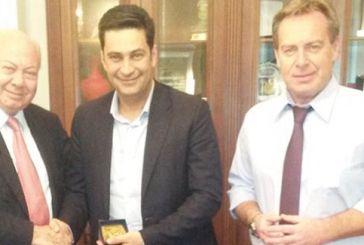 Συζήτησαν για συνεργασία οι δήμαρχοι Αγρινίου και Κεφαλονιάς