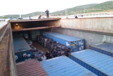 Έτσι εντοπίστηκαν τα λαθραία τσιγάρα στο πλοίο ανοιχτά του Πλατυγιαλίου  (φωτό)