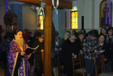 Η Ακουλουθία της Αποκαθήλωσης στον Ιερό Ναό Αγίου Θωμά Αγρινίου (βίντεο-φωτο)