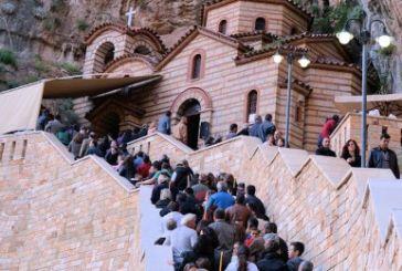 Προσκύνημα στην Παναγία Ελεούσα της Κλεισούρας (φωτό-video)