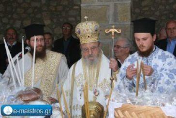 Με λαμπρότητα εορτάστηκε ο Άγιος Θωμάς Εμπεσού (video)
