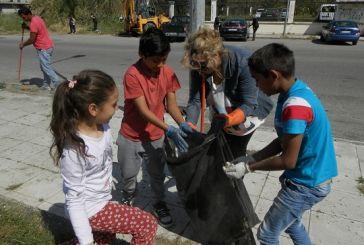 Μεσολόγγι: μεγάλη συμμετοχή στον εθελοντικό καθαρισμό