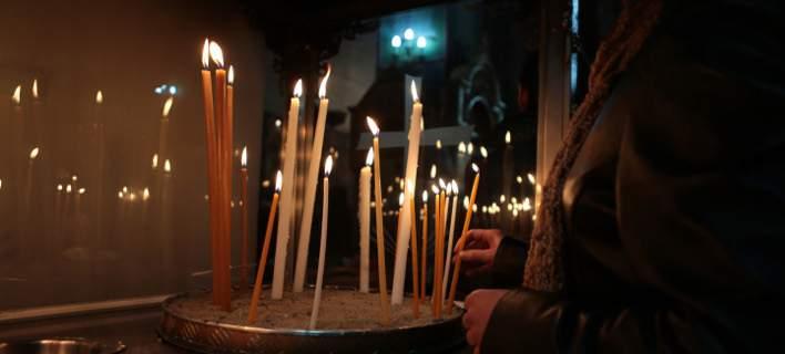 Αγρυπνία στην Αγία Παρασκευή Μάνδρας Θέρμου