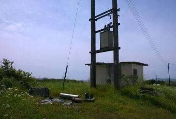 Kαλύβια: Κατέστρεψαν μετασχηματιστή της ΔΕΗ άγνωστοι «κυνηγοί» χαλκού