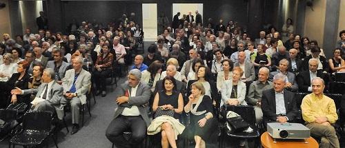 Κέρδισε το χειροκρότημα η παρουσίαση του βιβλίου του Αλέκου Μαγκλάρα