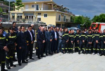 Εγκαίνια των εγκαταστάσεων των Εθελοντικών Πυροσβεστικών Σταθμών