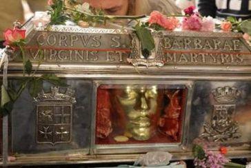 Περίπου 400.000 ευρώ άφησαν οι πιστοί στο σκήνωμα της Αγίας Βαρβάρας