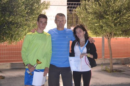 Πρωταθλητής ο Κώστας Σταμούλης, χάλκινη η Γεωργία Σταμούλη