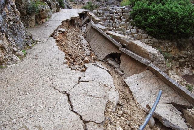 Έδωσε την άδεια η Αρχαιολογία για την αποκατάσταση του δρόμου στο Βάρνακα