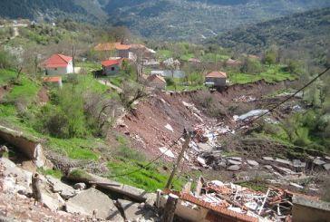 Προχωρά η γεωτεχνική μελέτη για την περιοχή των κατολισθήσεων στην ορεινή Ναυπακτία
