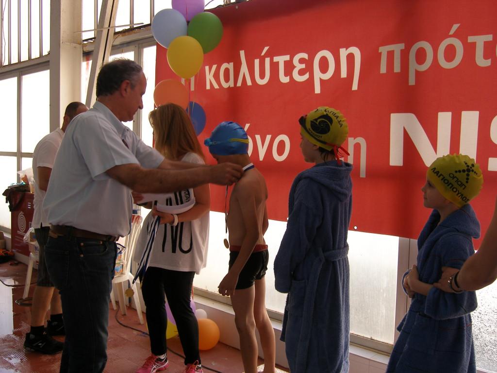 Γιορτή κολύμβησης  στο ΔΑΚ Αγρινίου