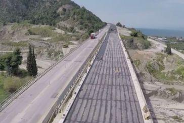 Ένα video για τα έργα στην Ολυμπία Οδό (Πατρών- Κορίνθου)