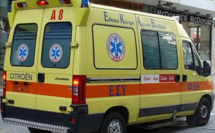 7χρονος στο Νοσοκομείο από τροχαίο στο κέντρο του Αγρινίου
