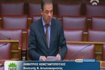 Ερώτηση για τη μείωση εισακτέων σε σχολές ΑΕΙ υψηλής ζήτησης από τον Δ. Κωνσταντόπουλο