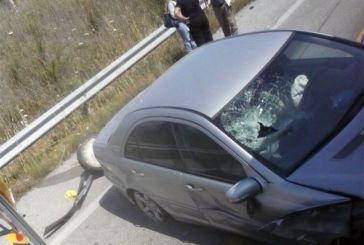 Τροχαίο ατύχημα στην παράκαμψη Αγρινίου