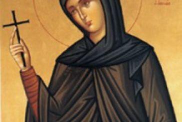 Υποδοχή στο Αγρίνιο του Ιερού Λειψάνου της Αγίας Φιλοθέης