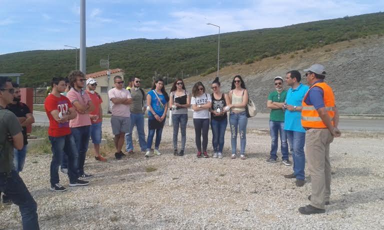Eπίσκεψη φοιτητών στον ΧΥΤΑ Στράτου