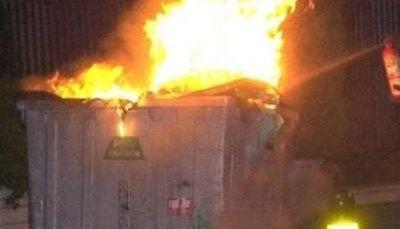 Αγρίνιο: πυρπόλησε κάδο με σκοπό να αυτοκτονήσει…