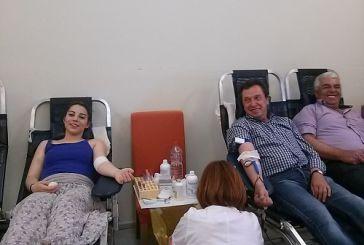 Με  μεγάλη επιτυχία η εθελοντική αιμοδοσία στο Θέρμο