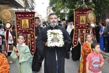 Με λαμπρότητα η υποδοχή του Ι. Λειψάνου της Αγίας Φιλοθέης