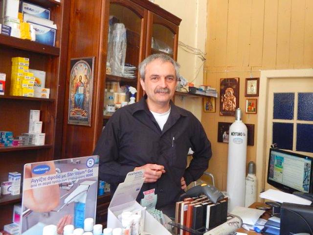 Σπύρος Μπαράκος: Ο Ακαρνάνας Φαρμακοποιός του Αγίου όρους