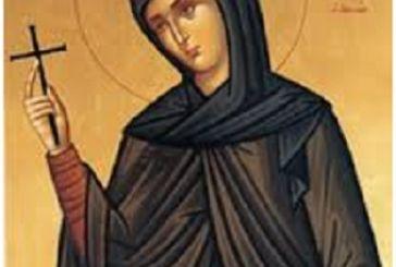Πρόγραμμα ακολουθιών για την απόκτηση του Ιερού Αποτμήματος του Λειψάνου της Αγίας Φιλοθέης