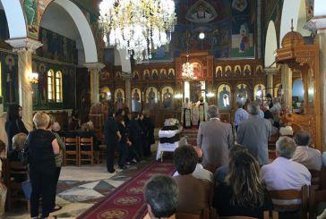 Σε βαρύ κλίμα κηδεύτηκε σήμερα ο άτυχος 67χρονος, θύμα της ασύλληπτης τραγωδίας στο Λουτρό