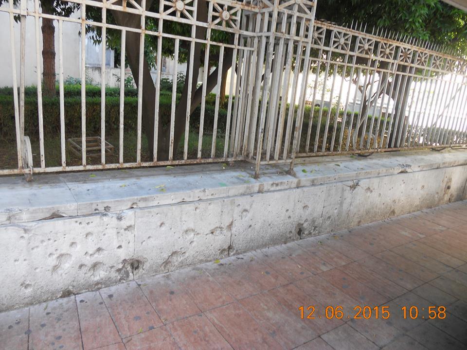 Που άφησαν ίχνη  θραύσματα βόμβας του 1940 στο κέντρο του Αγρινίου;