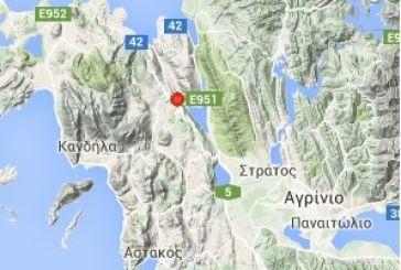 Σεισμική δόνηση με επίκεντρο στην Αιτωλοακαρνανία