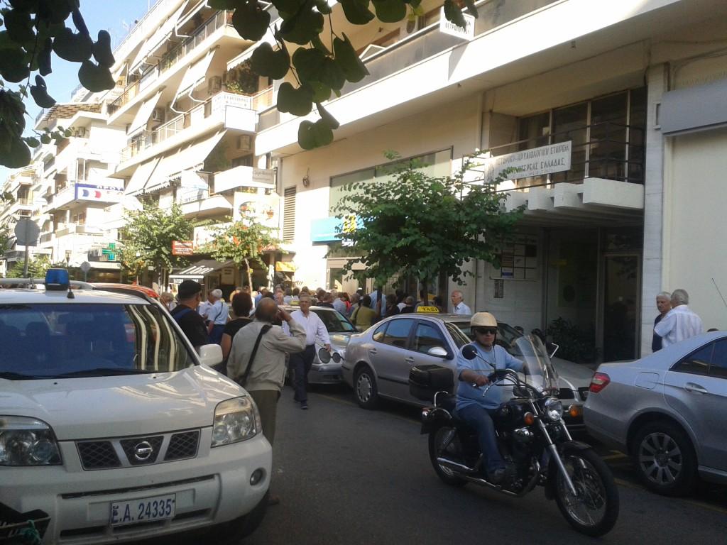H εικόνα τώρα στην οδό Αναστασιάδη του Αγρινίου
