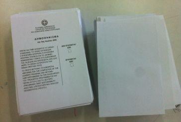 Τελικό αποτέλεσμα στον δήμο Θέρμου- ΟΧΙ 57,95%