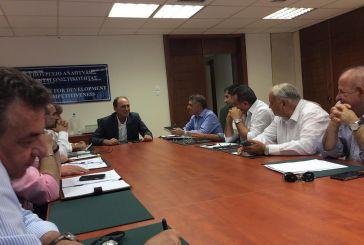 Συνάντηση των Περιφερειαρχών με τον Υπουργό Οικονομίας κ. Γιώργο Σταθάκη