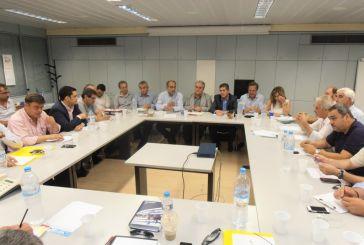 Σύσκεψη στην Περιφέρεια για τα απορρίμματα