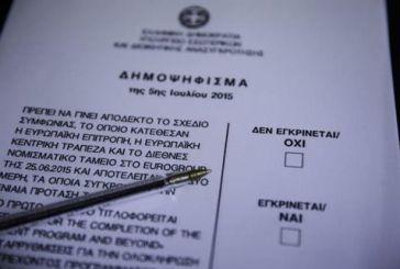 Μόνο με σταυρό (+) η επιλογή στο δημοψήφισμα της Κυριακής