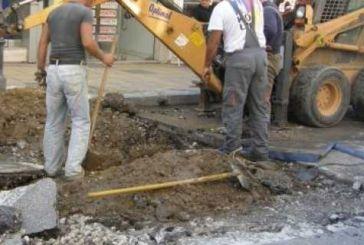 Αντικατάσταση δικτύου ύδρευσης Γριμπόβου