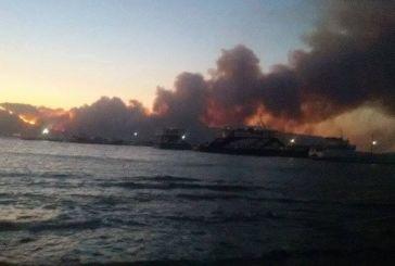 Φωτιά  στη Λακωνία: Εντολή εκκένωσης του ΚΥ Νεάπολης με απόφαση της 6ης ΥΠΕ