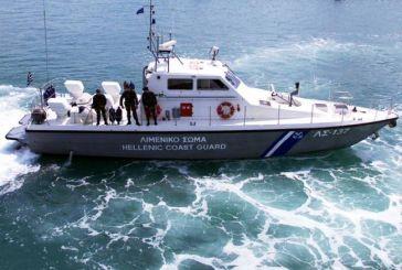 Πρόσκρουση σκάφους σε βράχια δυτικά του Σκορπιού