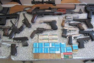 Εξαρθρώθηκαν σπείρες που διακινούσαν όπλα και στην Αιτωλοακαρνανία
