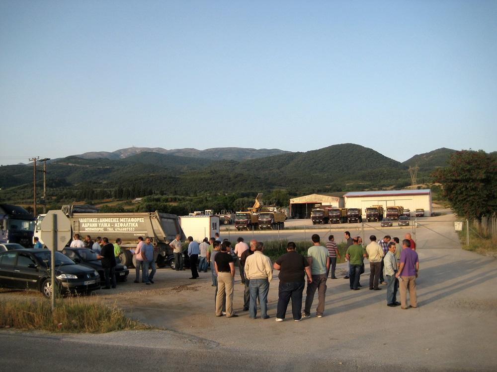 Kαταγγέλλει νέες απολύσεις στον οδικό άξονα Αμβρακία – Άκτιο το Εργατικό Κέντρο
