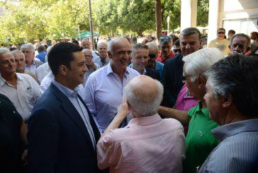 Στο δημαρχείο Αγρινίου ο Μεϊμαράκης (φωτό- video)