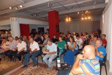 Συνέλευση ΣΥΡΙΖΑ Αγρινίου (φωτό)