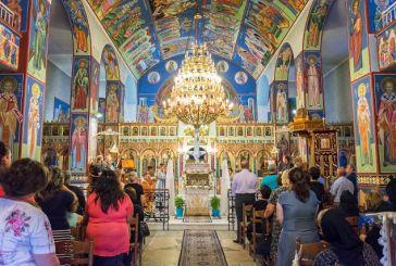 Παλαιομάνινα: Εσπερινός και λιτάνευση της εικόνας της Παναγίας