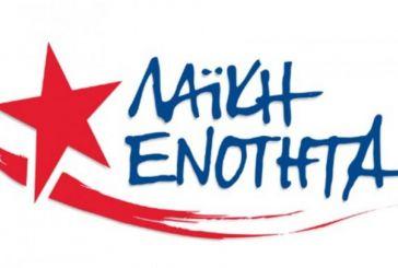 Λαϊκή Ενότητα Αιτωλοακαρνανίας: κάθε ονοματολογία είναι αυθαίρετη
