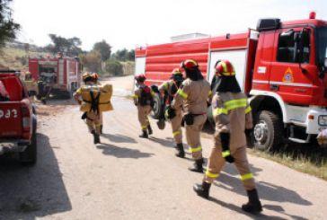 Πολλή δουλειά για την Πυροσβεστική Υπηρεσία Αμφιλοχίας