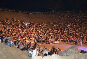 """Αρχαίο Θέατρο Στράτου: Το """"φως της Πανσελήνου"""" ανέδειξε την ανάγκη αποκατάστασης του"""