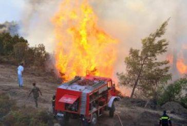 Κατάσβεση φωτιάς στο Ρίβιο