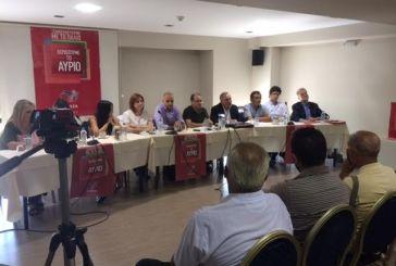 Παρουσίαση του ψηφοδελτίου του ΣΥΡΙΖΑ στο Αγρίνιο (video)