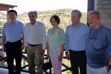 Συνάντηση  Κατσιφάρα με τον Κινέζο Πρέσβη
